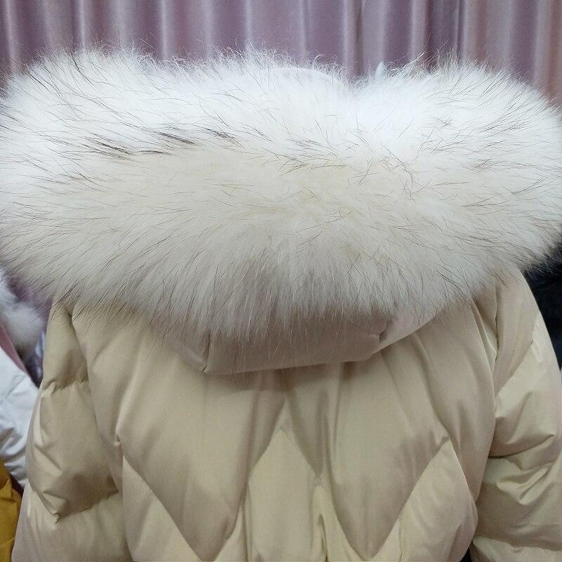 Parkas Coton Capuchon Grande Femmes Épaissir De Taille See Tops Fourrure see Femme Chart Chart Rembourré Manteau Hiver Col Veste Plus La Chaud À Vestes 2019 X5wOUqz