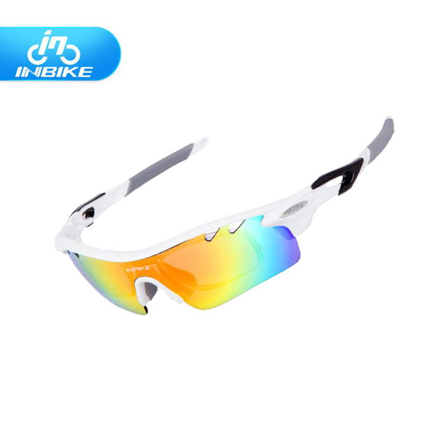d23b0b4ce0 2017 Hot INBIKE Cycling Glasses Sunglasses Men Women Polarized Bike Bicycle  Eyewear Goggle Sport Sunglasses 5 Lens IG16916