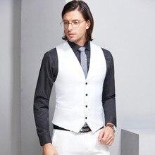 PEORCHID человек Свадебный костюм жилет лучший подарок мужчине Жених белый Для мужчин жилет британский стиль зеленый/серый/фиолетовый жилет для смокинга