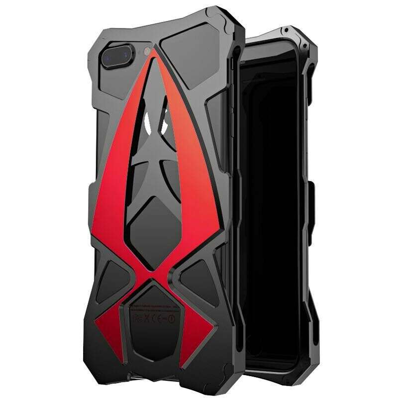 bilder für Sportwagen metall aluminium stoßfest abdeckung case für iphone 6 6s 6 s plus rüstung anti-shock phone cases für iphone 7 iphone 7 plus