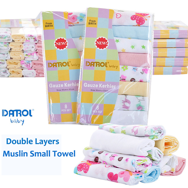 31f8453bb1c4 Gerber Baby Bath Towels Cotton Baby Wipes Newborn Baby Towels Handkerchief  Saliva Towel Soft Baby Towels