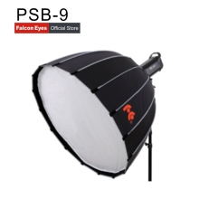 Falcon Eyes godox Parabolic Bowens Mount  round Softbox PSB-9 90CM*60*10 Studio Flash Speedlite Reflector Photo studio camera godox 60x60cm photo studio softbox diffuser s type bracket bowens holder mount for canon nikon sony camera flash speedlite