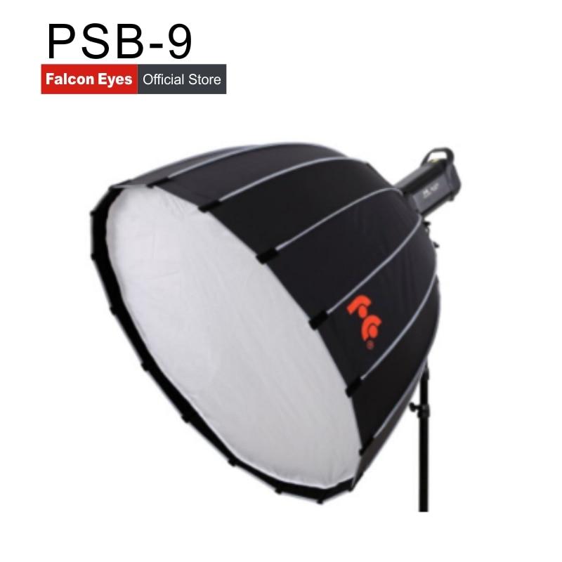 Falcon Eyes godox Parabolic Bowens Mount round Softbox PSB 9 90CM*60*10 Studio Flash Speedlite Reflector Photo studio camera