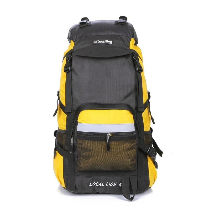 Professionla Outdoor Backpack Waterproof Nylon 45L Large Capacity Mountaineering Camping Hiking Rucksack Travel Bags 6