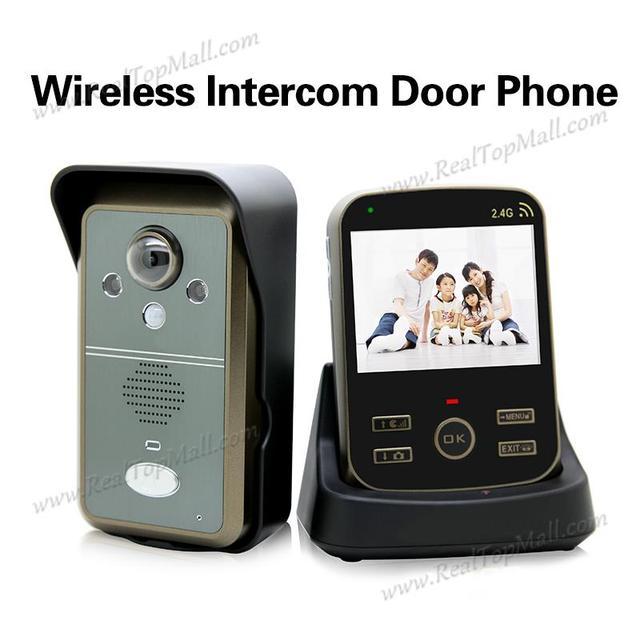 3.5inch Wireless Door Intercom Video Camera Doorbell Wireless Two Way Wireless Door Bell Deurbel met  sc 1 st  AliExpress.com & 3.5inch Wireless Door Intercom Video Camera Doorbell Wireless Two ...