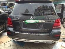 Auto rear door trim,tail trunk trim for Mercedes-benz GLK  300  350 ,2013 auto chrome accessories