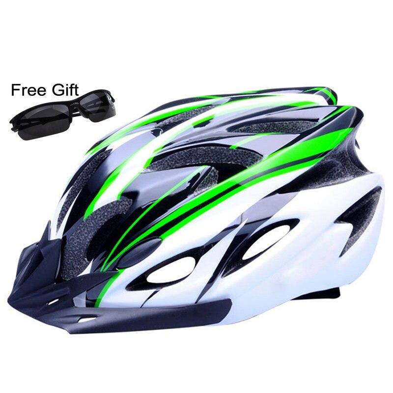 Ultraleicht Fahrrad Helm CE Zertifizierung Radfahren Helm In-mold Fahrrad Helm Casco Ciclismo 260g 56-61 cm