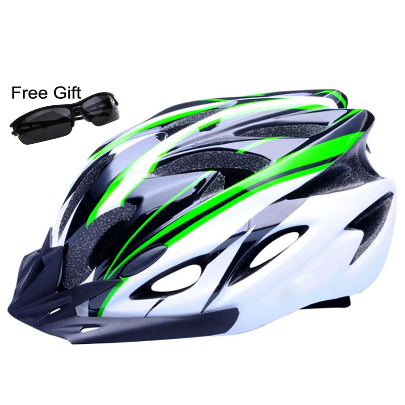 Ultralight Bicycle Helmet CE Certification Cycling Helmet In-mold Bike Helmet Casco Ciclismo 260g 56-61cm