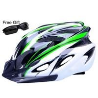 Upgrade Model Ultralight Bicycle Helmet Safety Cycling Helmet Protect Integrally Molded Bike Helmet 260G 57 62