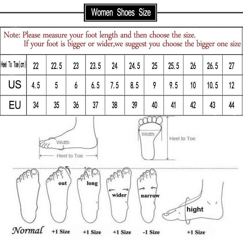 נשים נעלי רך נשים מזדמן קיץ נעלי מיקוד נשי בתוספת גודל 35-43 סנדלי חוף נעלי נשים