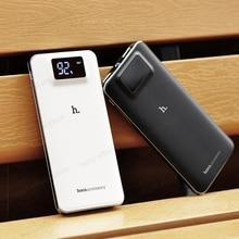 Banco do Poder Tocha de Potência para Samsung 10000 MAH Hoco Upb05 Bateria Externa 2 USB Baterias Externas Porta LCD Tocha Banco de Potência para Samsung Galaxy S7