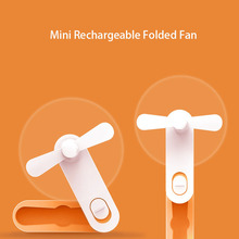 Creative Mini Air Conditioning Fan Portable USB Cooler Cooling Rechargeable Creative Handheld Mini Fan