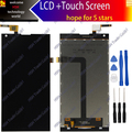 Accesorio original para doogee dg550 pantalla lcd con pantalla táctil digitalizador asamblea herramientas