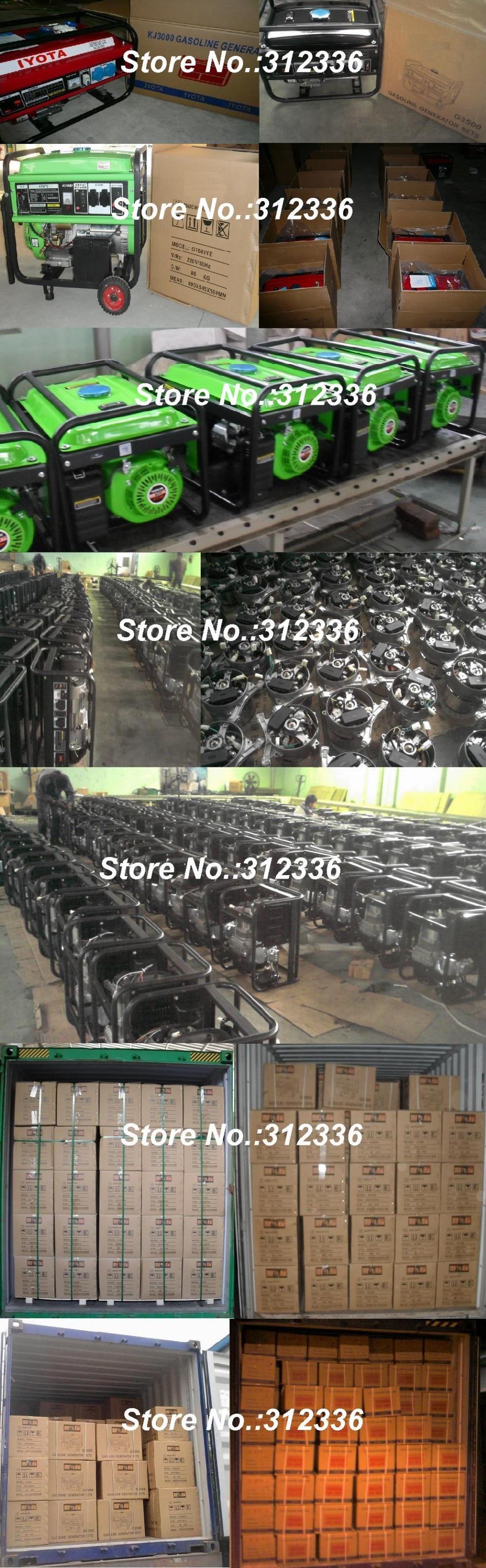 2kw partida 2500E Electri 168FE GX200 começo chave OHV 6.5hp