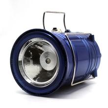 High-power Solar charging Portable lamp 1000Lm outdoor camping flashlight portable lantern USB Power bank torchlight