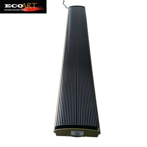 3200W Electric Garden Patio Heater Infrared Radiant Strip Heater with Smart Thermostat