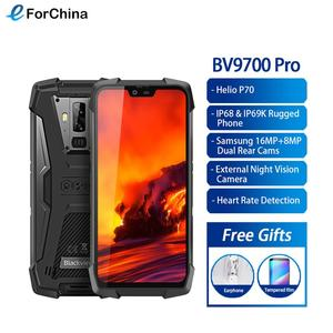 "Image 1 - Blackview BV9700 Pro Helio P70 6GB+128GB IP68 Waterproof Mobile Phone 5.84"" 19:9 FHD+ IPS 4380mAh Android 9.0 Smartphone NFC"