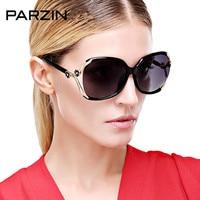 Parzin поляризационные Солнцезащитные очки для женщин Для женщин Tr90 элегантный цветок дизайнерские женские Защита от солнца Очки вождения Да...