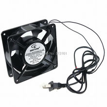 Gdstime 120mm AC 220V 240V 12cm 120x120x38mm Axial Cooling Fan ebm papst 4850n 4850 n ac 230v 10w 9w 120x120x38mm server square fan
