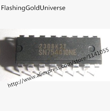 Free Shipping 100PCS SN754410NE SN754410 DIP New original
