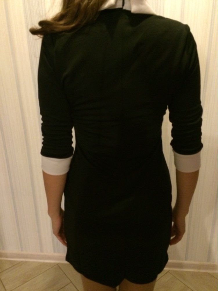 Žene Haljine 2017 Moda ŽeneOtvoreni ovratnik Slim Casual Haljine - Ženska odjeća - Foto 3