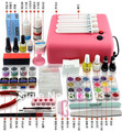 Nail Art Toiletry Kit Set Nail Polish Glue Finger Light Therapy Machine Full Set Nail Tools Polish Nail Gel Jin