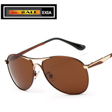 Brown Sunglasses Men Pilot Style Classic Sun Eyewear EXIA OPTICAL KD-8722 Series