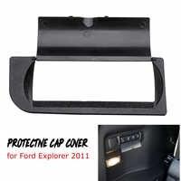 Capot de protection ABS intérieur de voiture pour boutons dans le coffre pour Ford Explorer 2011 2012 2013 2014 2015 2016 2017