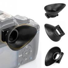 ホット販売カメラゴム接眼レンズ用キヤノン 550D/300D/350D/400D/60D/600D/ 500D/450D デジタル一眼レフカメラアイカップアクセサリー 18 ミリメートル &