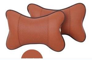 Image 2 - 자동차 좌석 머리 쿠션 자동차 머리 받침 호흡 자동차 자동 좌석 머리 목 나머지 자동 머리 받침 패드