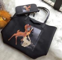 2015 FashionWomen s European American Style font b Handbag b font Top Quality PVC Shoulder Bag