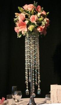 (20gab. / Partijas) Visaugstākais akrila kristāla kāzu centrālais - Svētku piederumi