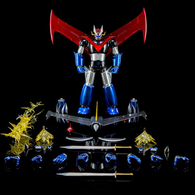 24cm 1/9 Iron Man King Arts 1:9 Diecast DFS066 KA <font><b>MAZINGER</b></font> <font><b>Z</b></font> No.2 Nagai Gou <font><b>Figure</b></font> Model Toy model image