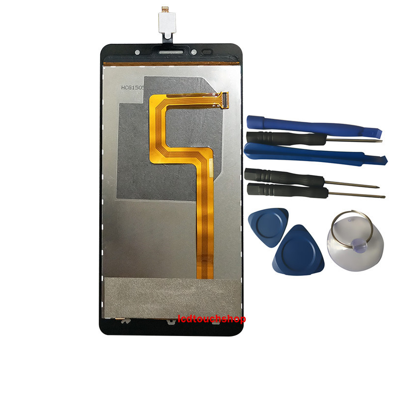 New For SISWOO C55 LCD Display With Touch Screen With Frame Digitizer Assembly Replacement With Tools White Black ColorNew For SISWOO C55 LCD Display With Touch Screen With Frame Digitizer Assembly Replacement With Tools White Black Color