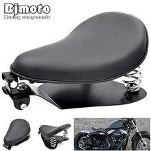 Moto סולו מושב Baseplate אביב seatPad אוכף סוגר עבור הארלי דוידסון Sportster הונדה ימאהה קוואסאקי סוזוקי Bobber ופר