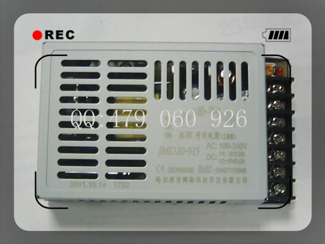 [ZOB] 20W JMD20 915 9V2A 15V0.5A switching power supply two isolated 3PCS/LOT