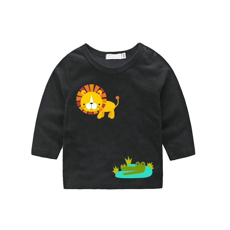 Set Of Clothes Stickers Cartoon Animals
