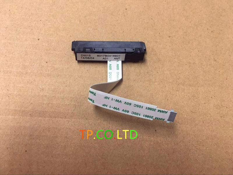 Genuine New Free Shipping For HP For ENVY 15 15-j105tx 15-j laptop DW15 6017B0416801 SATA Hard Drive HDD Connector Flex Cable 1 sheet beautiful nail water transfer stickers flower art decal decoration manicure tip design diy nail art accessories xf1408