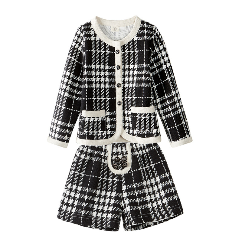 2017 Spring Korean version of children's clothing female children's suits 2017 spring