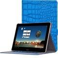 """Ultra de cuero magnética delgada elegante de la cubierta protectora case para huawei mediapad 10 fhd/link/link + s10-231u 10.1 """"tablet case"""