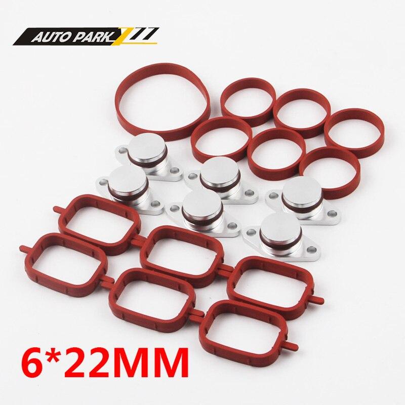 6x22mm Tourbillon Volets Remplacement Retrait Découpage Plaques pour BMW E87 E46 E60 E61 320d 520d 120d 6 cylindre modèle