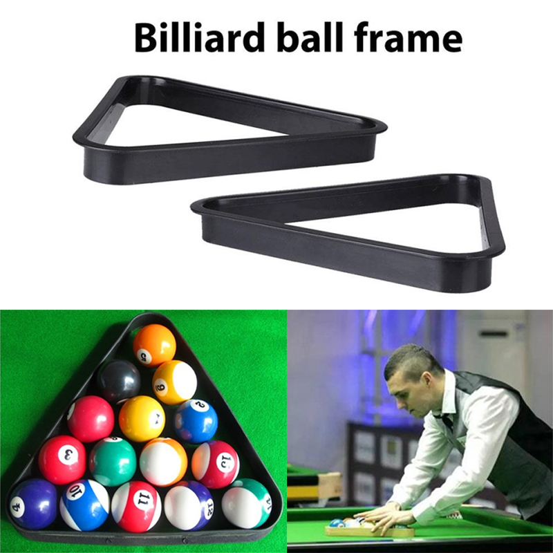 British American Billiards Snooker Pool Table Ball Standard Plastic Rack Tripod Billiards Tripod Frame Repositioning Frame