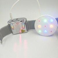 Лазерное кровяное облучение для домашнего использования 650nm лазерные часы гипертензионные болезни состоит из GaA/AS полупроводниковых Драг к