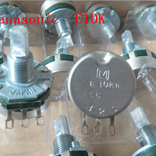[VK] Japan E10K potentiometer 10K game potentiometer half handle 20MM switch