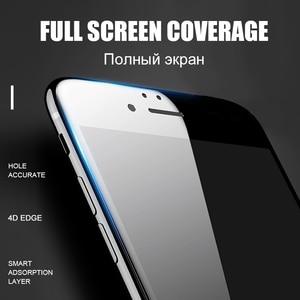 Image 3 - 5D rond bord incurvé verre trempé pour iPhone 6 6s Plus 7 8X11 11 Pro verre couverture complète protecteur décran Premium 5D protection