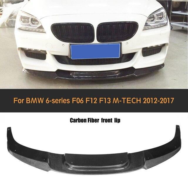 Bmw 6 Series F13 Coupe M Sport Package 2015 3d Model: 6 Series Carbon Fiber Front Bumper Lip Spoiler For BMW F06