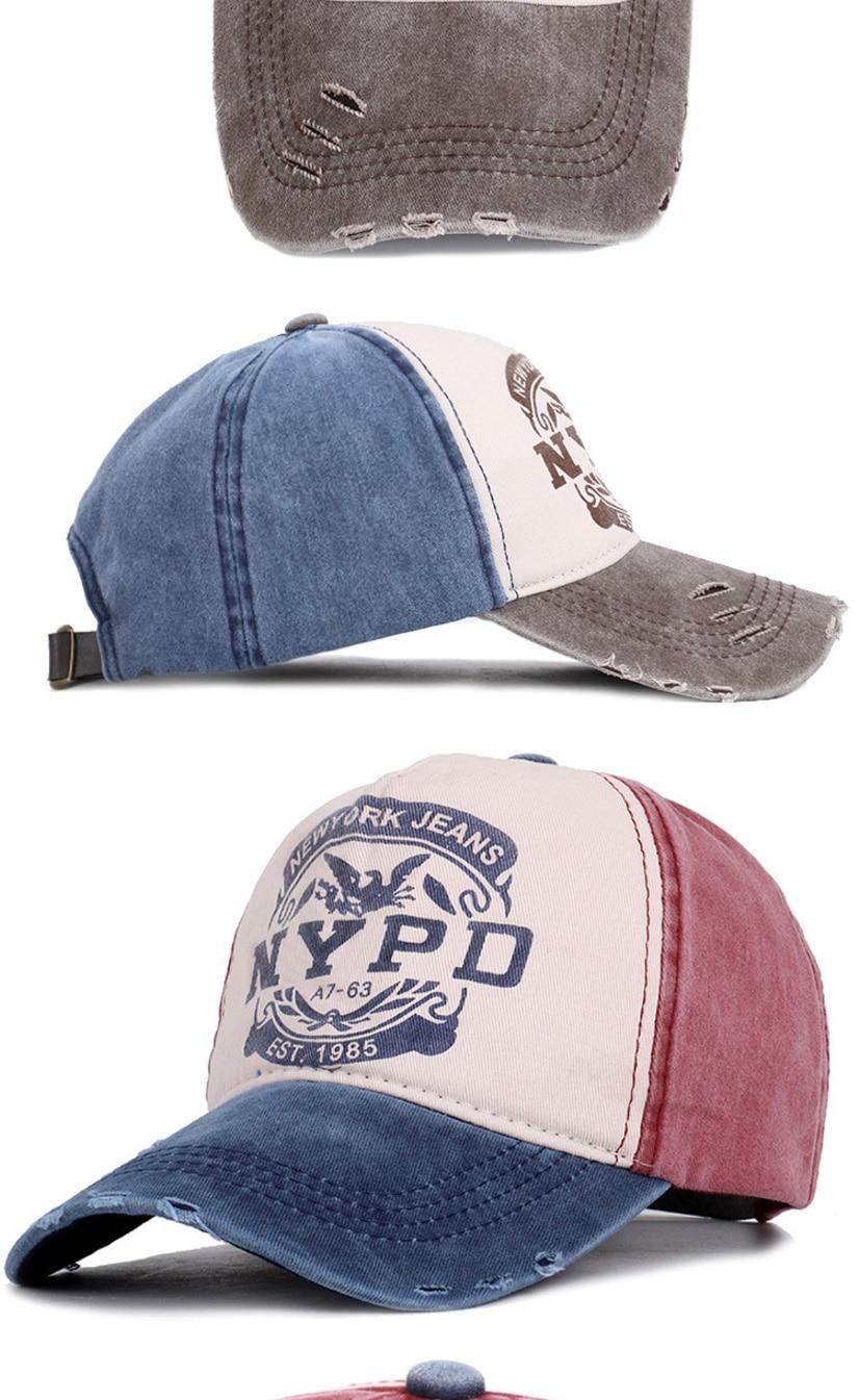 棒球帽子_做旧水洗牛仔棒球帽子男女街头字母nypd弯檐嘻哈鸭舌---阿里巴巴_03