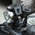 Super Bright Motorcycle U5 Laser Cannon Transformers LED Driving Spot Light Headlight Fog Lamp For Car