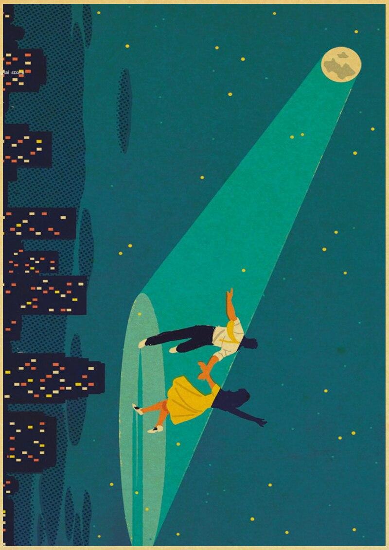Ла-ла-Ленд Плакаты фильм Винтаж стены дома украшения Крафт Бумага подарки на день рождения abooly бренд