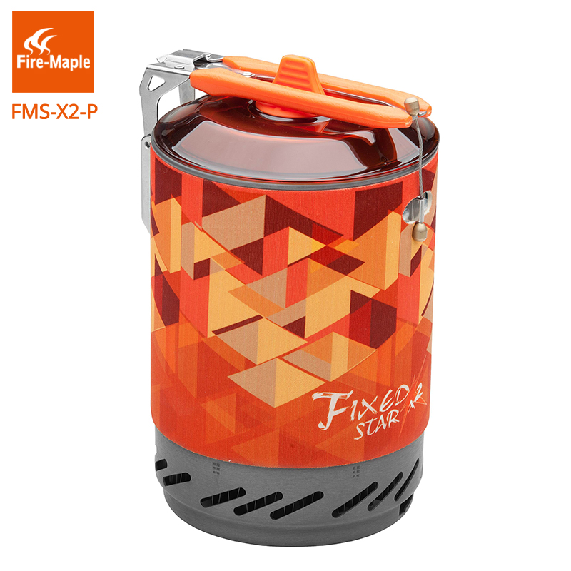 Fire Maple Repair Parts Aluminum Alloy Pot for Fixed Star X2 Cooking System Orange 350g FMS X2 P